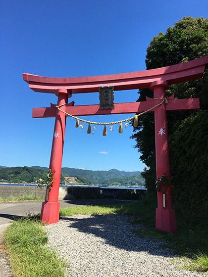 鳴無神社(おとなしじんじゃ)鳥居