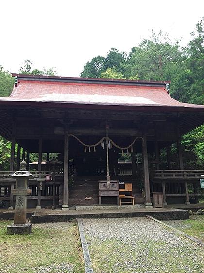 少彦名神社拝殿