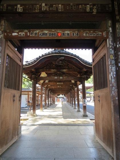 善通寺の通路