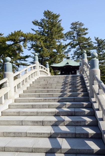 善通寺の太鼓橋