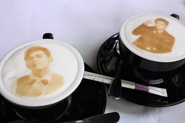 周杰倫のカフェラテ