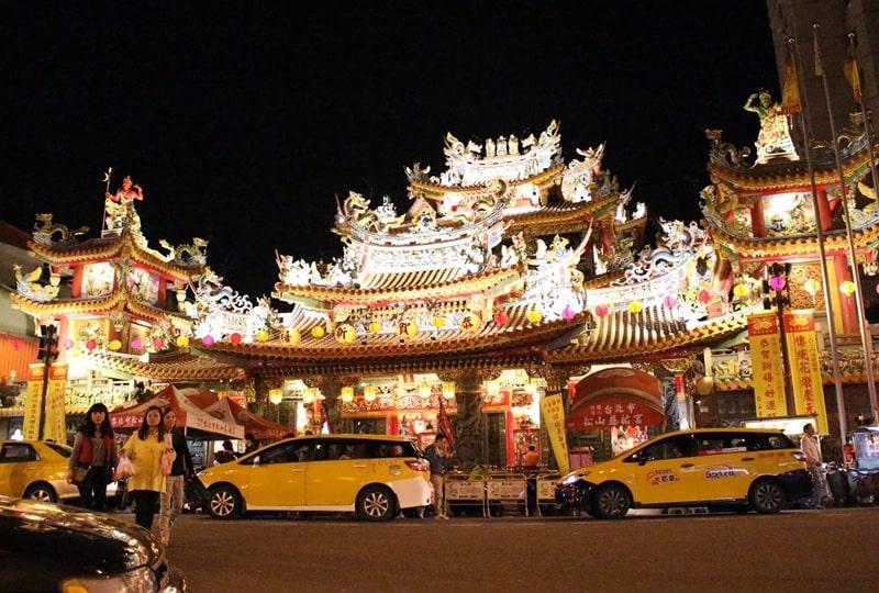 台湾の夜の街