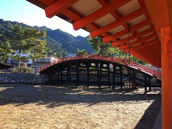 厳島神社の橋