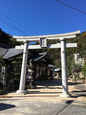 大頭神社の鳥居