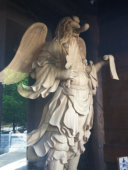石鎚神社の大天狗さん