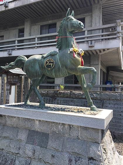 石鎚神社の神馬