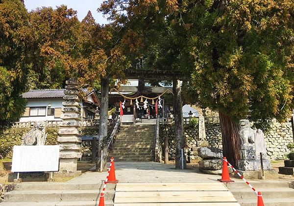 賀茂神社の鳥居