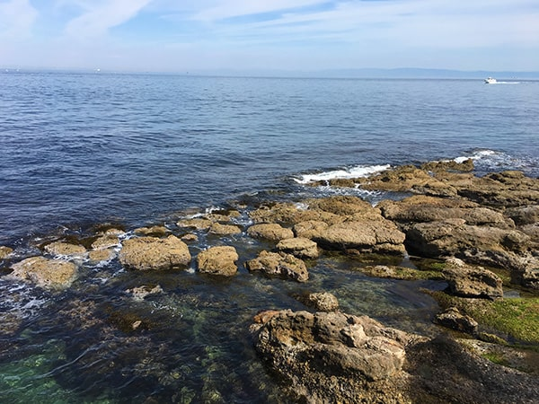 淡路島の綺麗な海