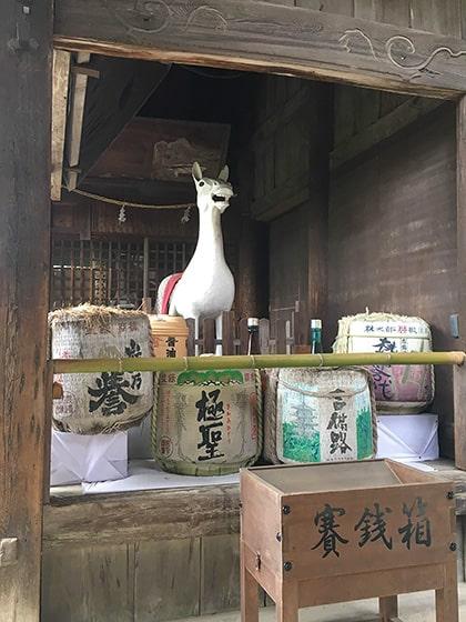 吉備津神社の神馬