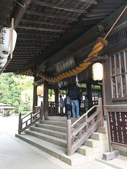 吉備津神社拝殿