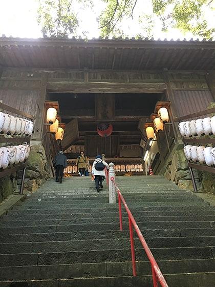 吉備津神社の神門